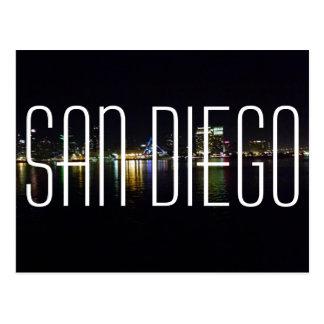 Cartão do porto de San Diego