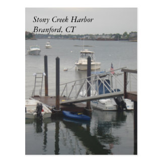 Cartão do porto de Stony Creek