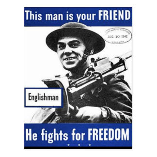 Cartão do poster da propaganda cartão postal