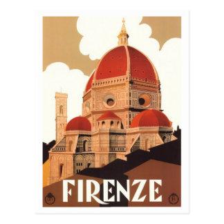 Cartão do poster de Firenze