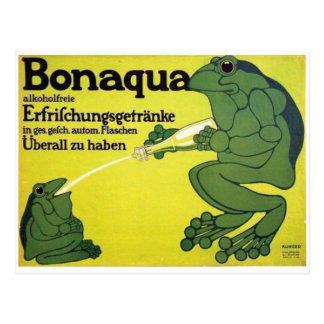 Cartão do poster do anúncio do vintage