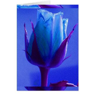 Cartão do prazer do rosa do azul mim - customizáve