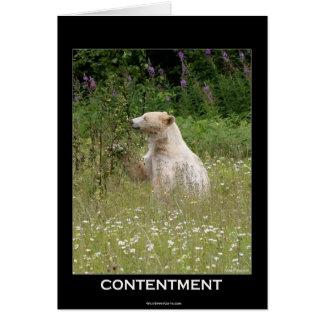 """Cartão Do """"presentes do urso espírito"""""""