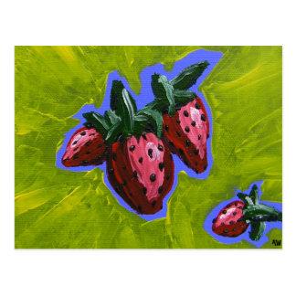 Cartão do PRISIONEIRO DE GUERRA de Strawberry
