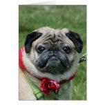 Cartão do Pug