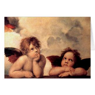 Cartão do Putti de Rafael