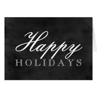 Cartão do quadro boas festas