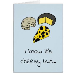 Cartão do queijo
