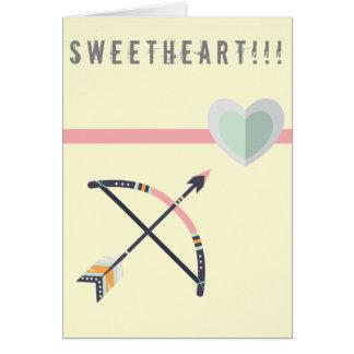Cartão do querido