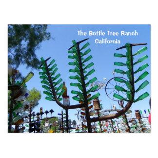 Cartão do rancho da árvore da garrafa!