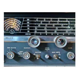 Cartão do receptor de rádio de onda curta