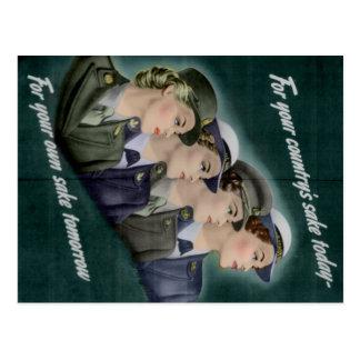 Cartão do recrutamento de WWII