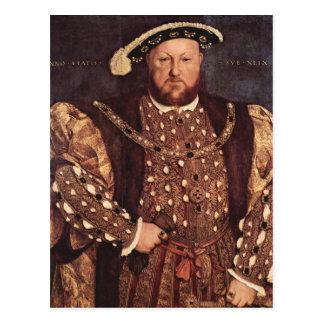 Cartão do rei Henry VIII