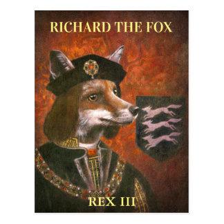 Cartão do rei Richard Terceiro Fox