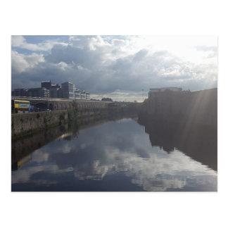 Cartão do Riverbank de Dublin
