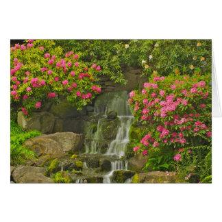Cartão do rododendro