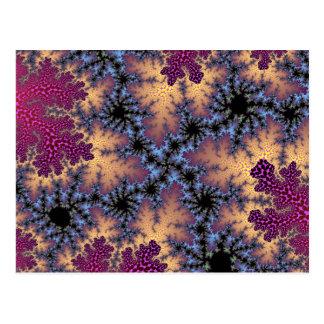Cartão do salpico da pétala cor-de-rosa