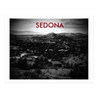 Cartão do sedona, arizona