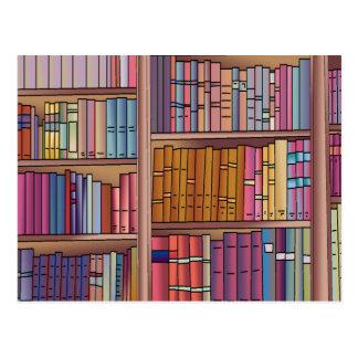 Cartão do sem-fim de livro cartão postal