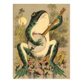 Cartão do Serenade do sapo