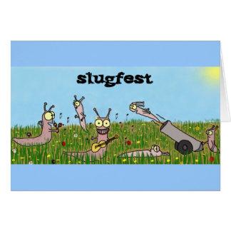 Cartão do Slugfest