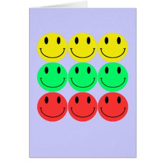 Cartão do smiley