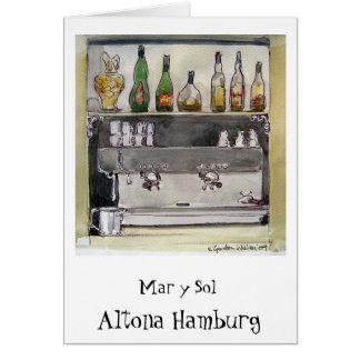 Cartão do solenóide Altona Hamburgo de março y