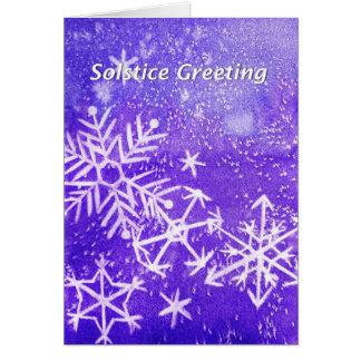 Cartão do solstício