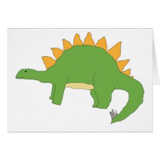 Cartão do Stegosaurus
