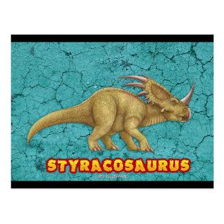 Cartão do Styracosaurus