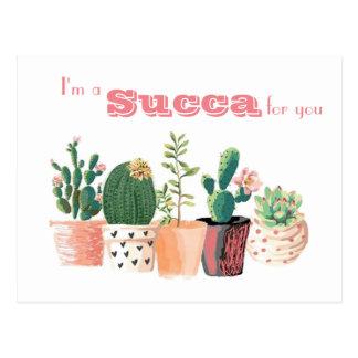 Cartão do Succulent - eu sou um Succa para você