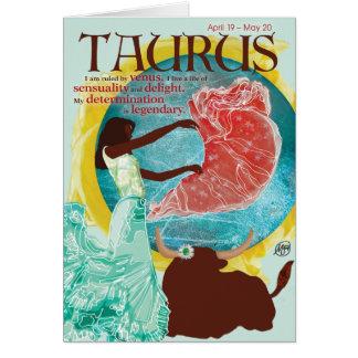 Cartão do Taurus