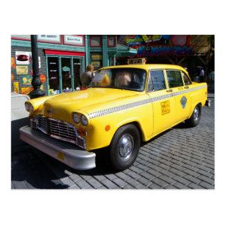Cartão do táxi do vintage!