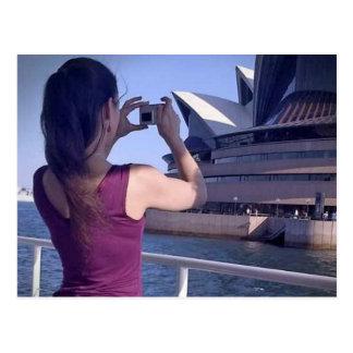 Cartão do teatro da ópera de Sydney