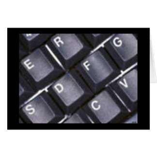 Cartão do teclado