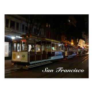 Cartão do teleférico #3 de San Francisco