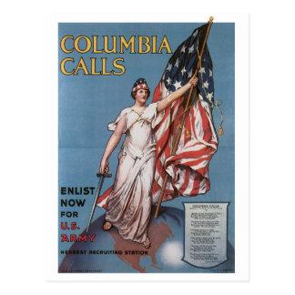Cartão do tempo de guerra, poster vintage do