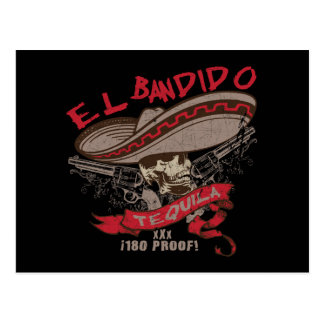 Cartão do Tequila do EL Bandido