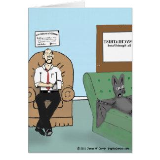 """Cartão Do """"terapia bastão """""""