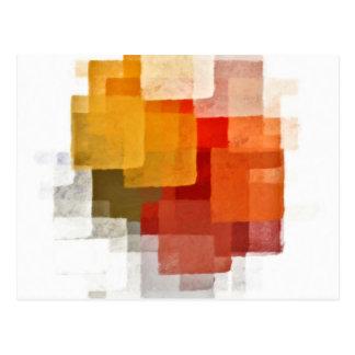Cartão do teste padrão do Cubist