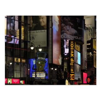 Cartão do Times Square