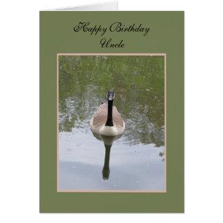 Cartão do tio aniversário -- Tio do feliz aniversa