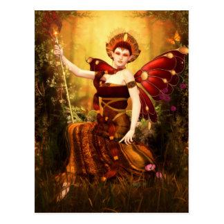 Cartão do Titania da rainha