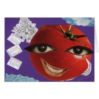 Cartão do tomate ECS3