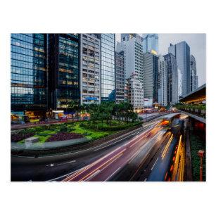 Cartão do tráfego de Hong Kong
