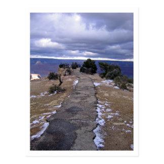 Cartão do trajeto do Grand Canyon