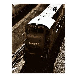 Cartão do trem