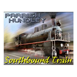 Cartão do trem Southbound de Parrish-Hundley Cartões Postais