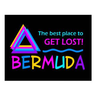 Cartão do TRIÂNGULO de BERMUDA - personalize