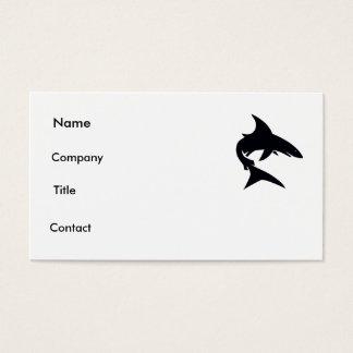 cartão do tubarão